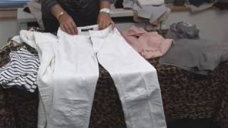 How To Look Good In White Trousers