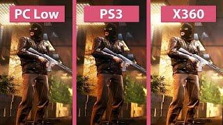 Battlefield Hardline - PC (low) vs. PS3 vs. 360 im Grafikvergleich