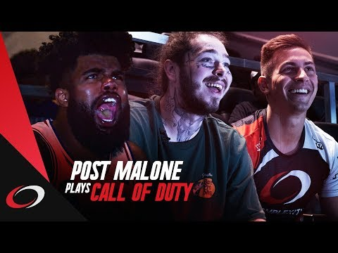 Post Malone & Call of Duty Esports Pros ft. Dallas Cowboys | compLexity Gaming