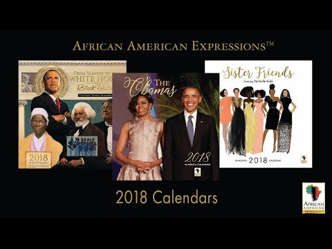 African American Expressions 2018 Black Calendars