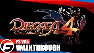 Disgaea 4: A Promise Revisited Walkthrough Part 1 PS Vita