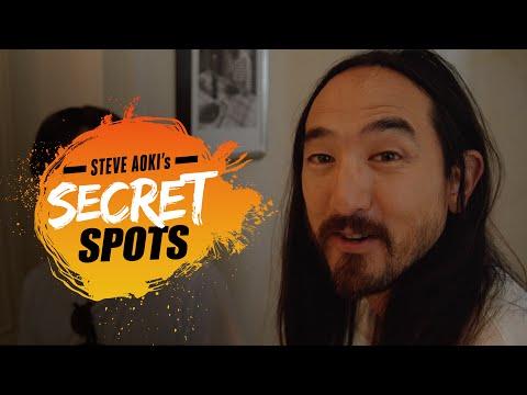 The Picasso Mansion (w/ Florian Picasso) - Steve Aoki's Secret Spots #1