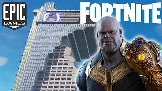 Der AVENGERS TOWER in FORTNITE - Tony Stark Tower Kreativmodus Carte - Code