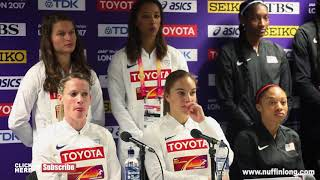 ALLYSON FELIX WANTS TO END HER CAREER IN TOKYO 2020 IN THE 4X400M PRESS CONFERENCE