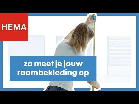 Ongekend HEMA helpt: raambekleding ophangen - YouTube WA-11