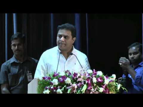 KTR Excellent Speech at RCI on Women's Day (MUDRA) 2017