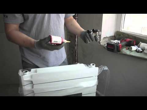 Как правильно собрать биметаллический радиатор отопления