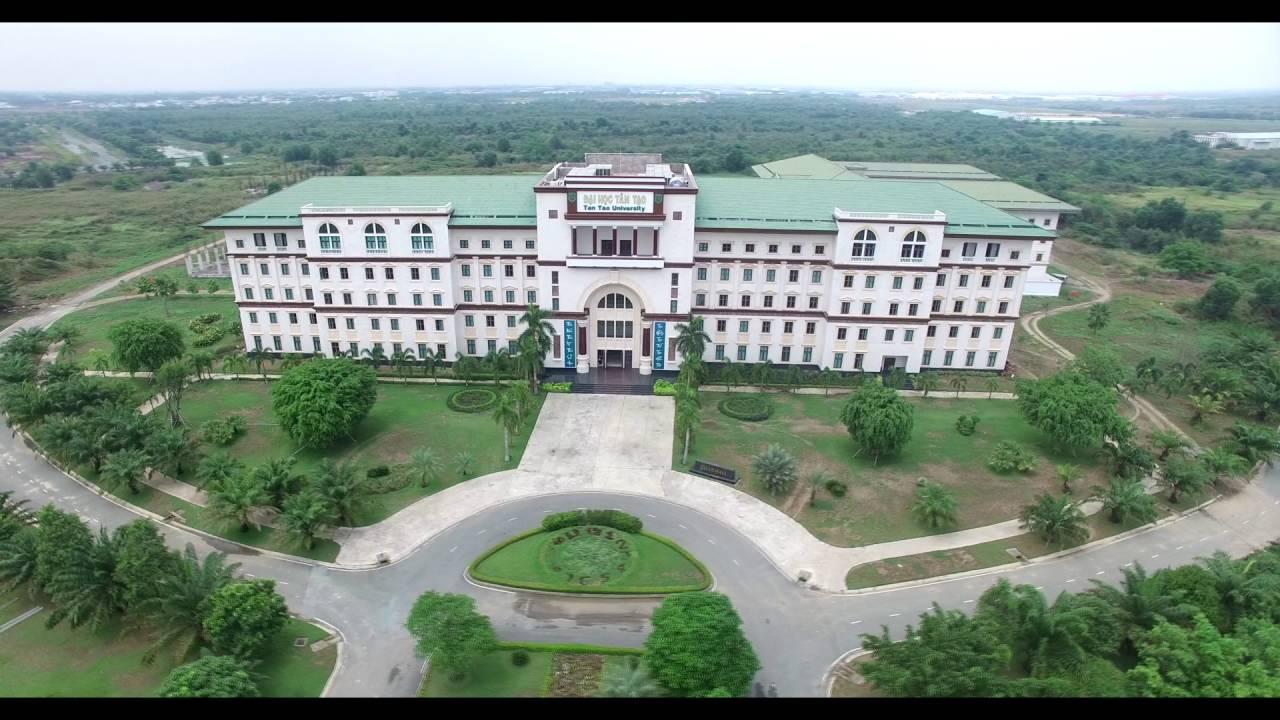 [TTU] Khung cảnh Trường Đại hoc Tân Tạo từ flying cam.