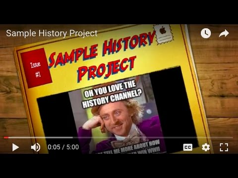 Sample History Project