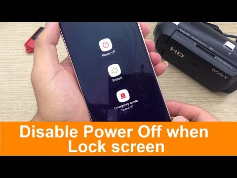 Disable Power Off when Lock screen on Android (Without root