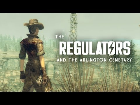 The Full Story of the Regulators and the Arlington Cemetary - Fallout 3 Lore