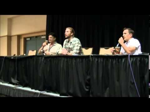 Troy Braker, Nolan North, Richard Epcar Batman Villians @ Metrocon 2014