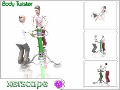 Outdoor Gym Equipment - Body Twister