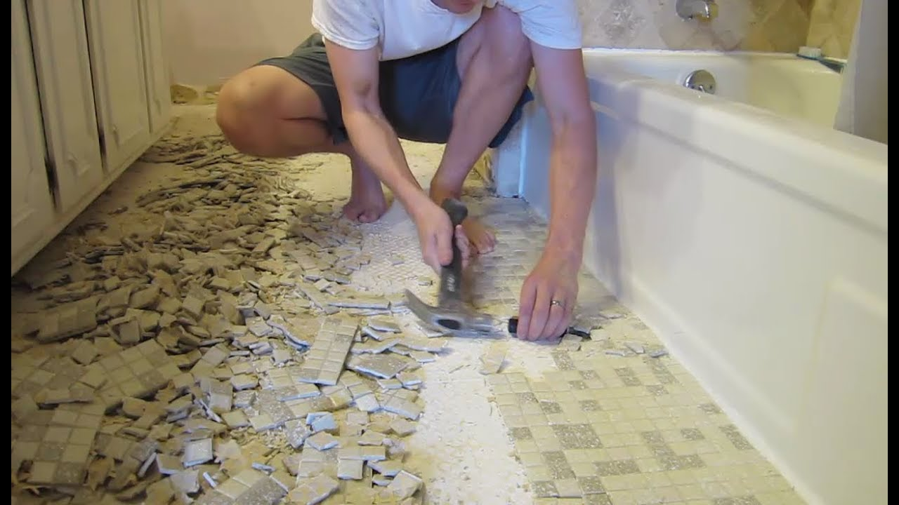 Bathroom Remodel Cost Estimate Materials Demo Floor Tile
