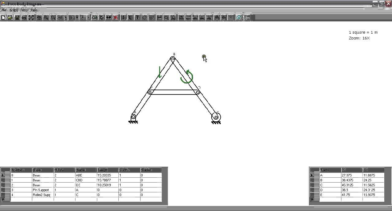 free body diagram  two-force members  introductory