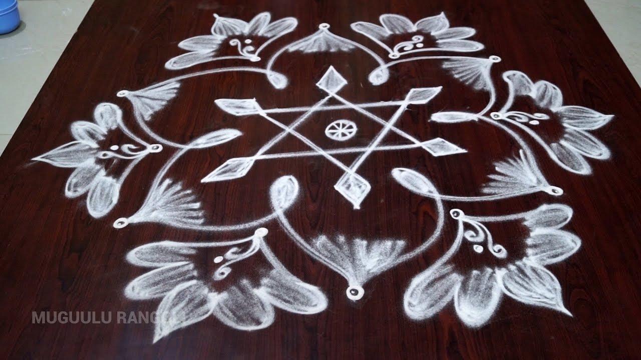 Simple Rangoli Kolam Design Simple Rangoli Designs Simple Rangoli Kolam Rangoli Designs Simple