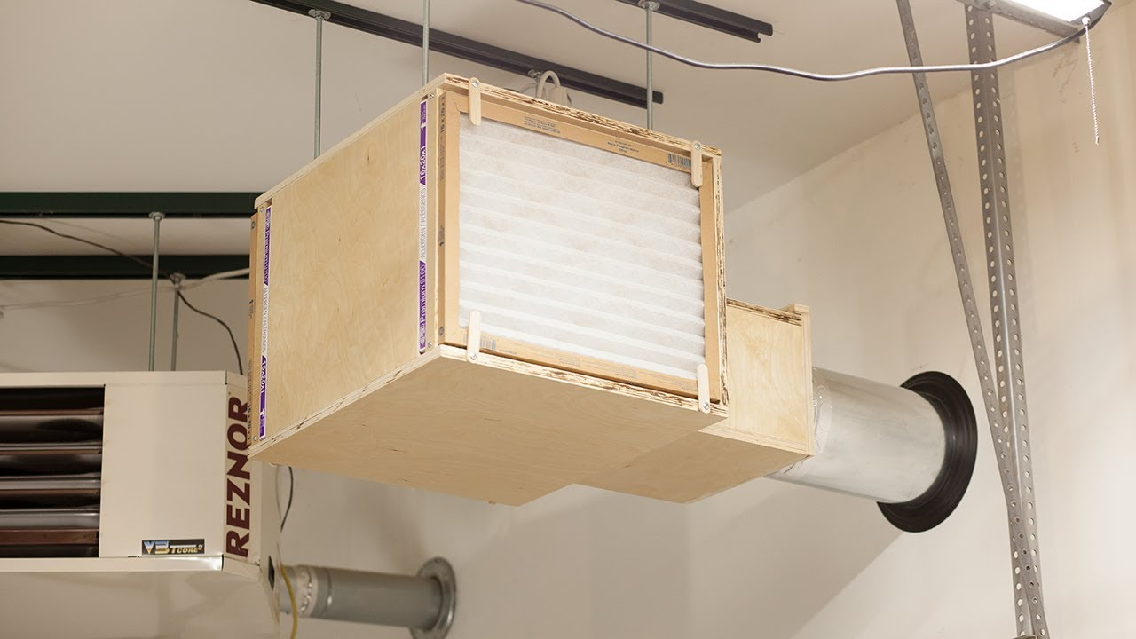 How To Build A Shop Air Cleaner And Paint Booth