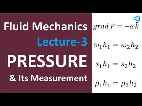 Fluid Mechanics-Lecture-3_Pressure & Its Measurement