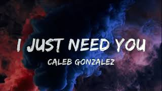 Gambar cover I just need you - Caleb Gonzalez