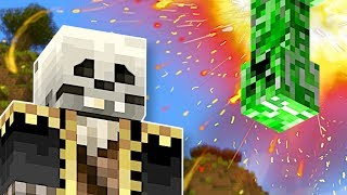 IT'S RAINING CREEPERS! - Minecraft Multiplayer Gameplay