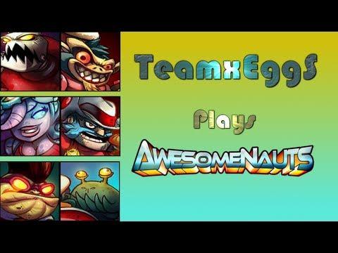 Awesomenauts | Agnawing | Online Battle 66 | w/ Kuta, Sweet & Gangsta