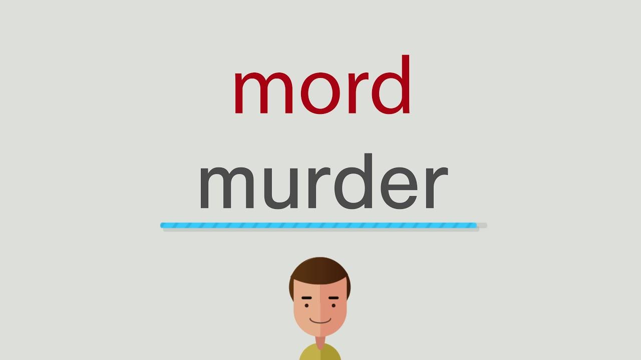 Mord Auf Englisch