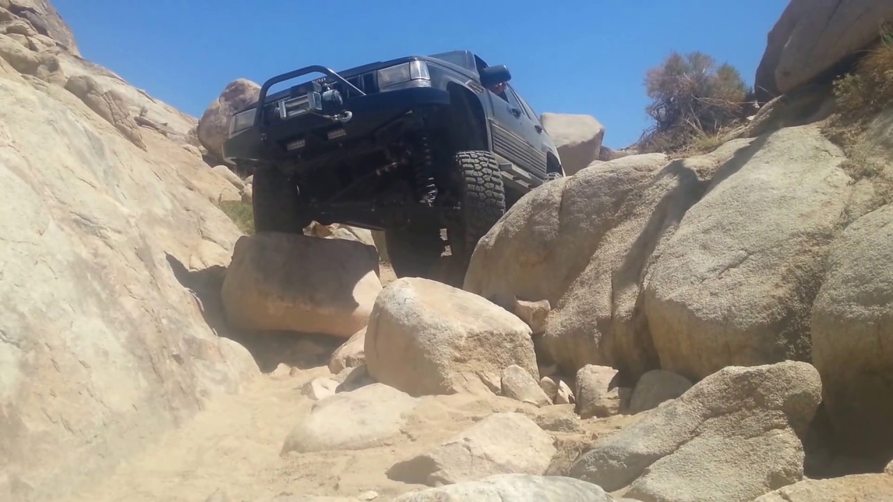 My Jeep Grand Cherokee Flexing at Cougar Buttes V8 ZJ Iron Rock Offroad 7