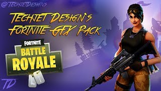FORTNITE: BATTLE ROYALE GRAPHICS PACK | FORTNITE GFX PACK! | FREE DOWNLOAD LINK (PSD)