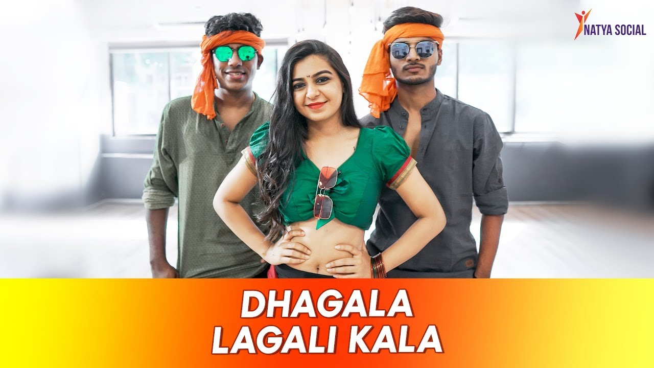 Dhagala Lagali Kala - Dream Girl | Dance Cover | Natya Social