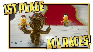 Get 1st Place in All Koopa Freerunning Races - Super Mario Odyssey