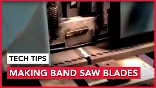 Making Band Saw Blades, Sawblade.com