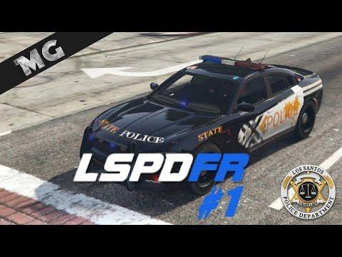 GTA V - LSPDFR 0.3.1 [Fr] | Attaque d'un commissariat de police - Patrouille 1