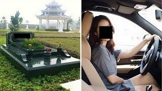 Kêu taxi đến khách sạn nhưng lại chở ra nghĩa trang chồng và bồ uất ức để  khi chiếc mũ hạ xuống