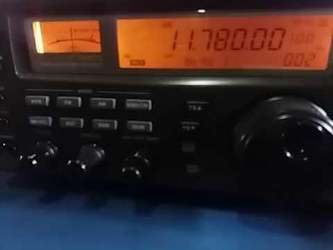 11780 kHz: Radio Nacional da Amazonia, Brasilia DF