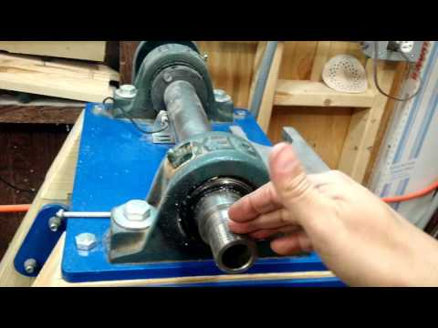 HomeMade Lathe Part 1- spindle forces explained static, dynamic (radial), and thrust