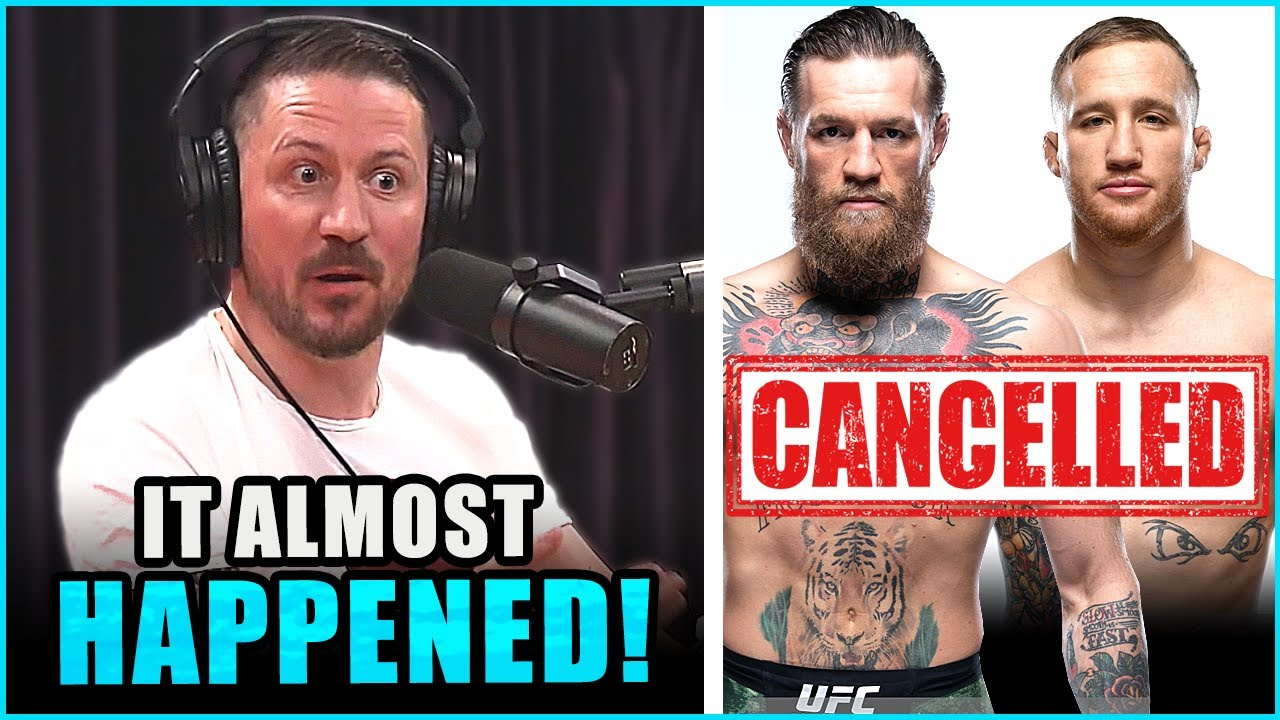Conor McGregor vs Justin Gaethje was canceled last minute, Mike Perry still mad with fans & more