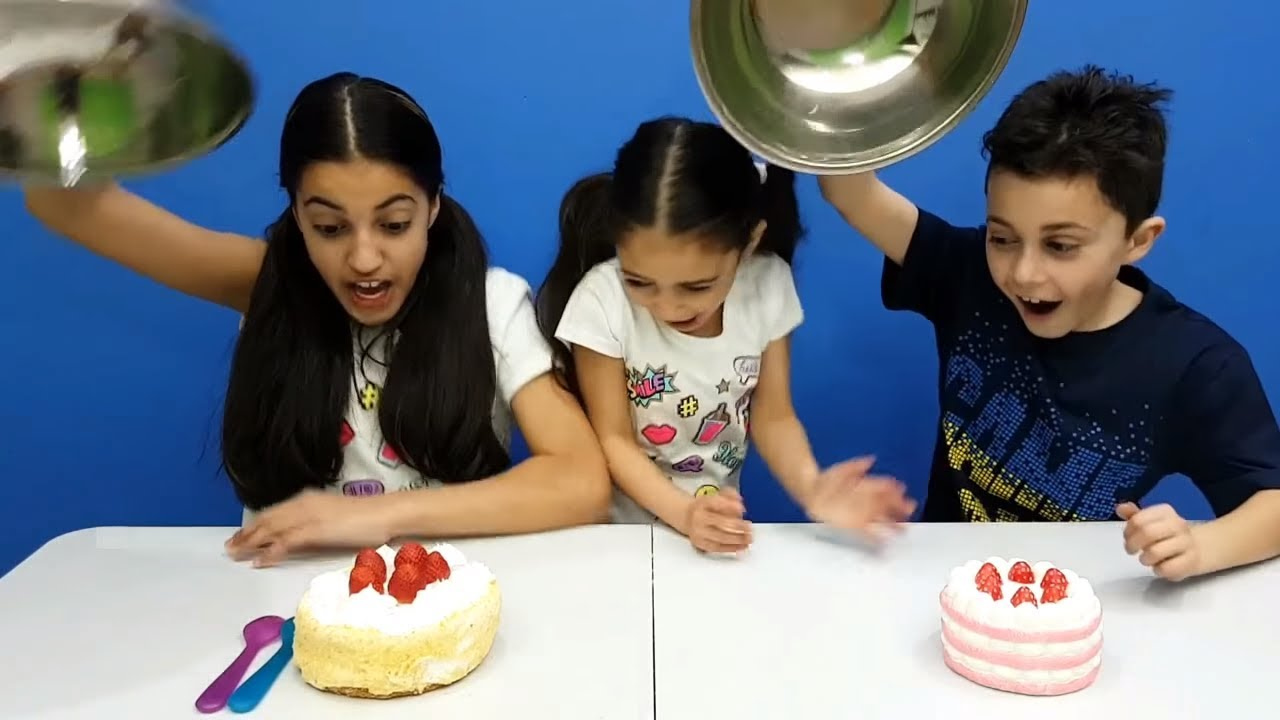Squishy Versus Real Challenge : SQUISHY FOOD vs REAL FOOD CHALLENGE!!! - YouTube