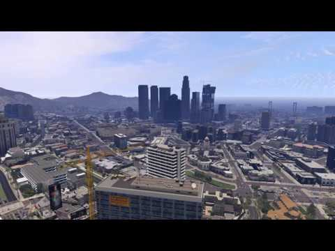 Gta  Live Wallpaper W Sound Gta V K Uhd City Time Lapse