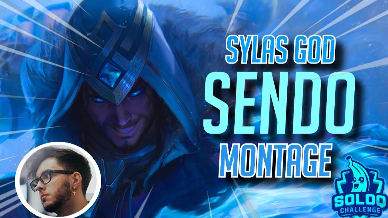 RANK 1 SYLAS EUW MONTAGE (CHALLENGER EUW - #SOLOQCHALLENGE2021) - Send0o