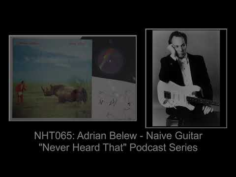 Never Heard That: NHT065 - Adrian Belew - Naive Guitar mp3