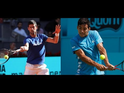 Novak Djokovic vs Christian Garin • Highlights