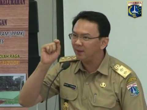 20 Nov 2012 Bpk Basuki T. Purnama memberikan pengarahan pada Rakerda TKPK