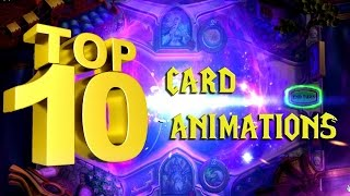 Hearthstone: top 10+3 card animations on my list