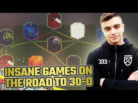 הדרך ל30-0 בפוט צמפיונס מסתבכת.... פיפא 20!!! | INSANE GAME ON THE ROAD TO 30-0!!FIFA 20