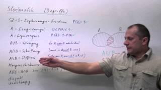 Stochastik-Begriffe und -Definitionen, die man kennen sollte | W.11.01