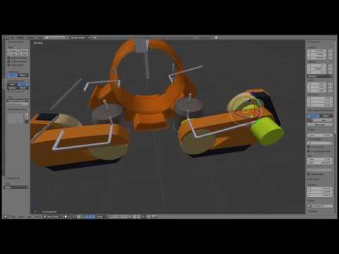 Modular Sci-fi Vehicle set - WIP  110