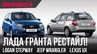 видео Новый внедорожный хэтчбек Renault Sandero Stepway 2