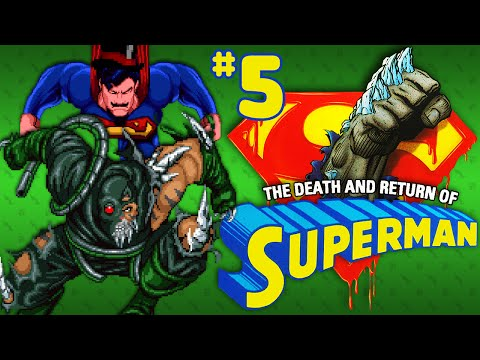The Death And Return Of Superman (SNES) - Part 5: Reign Of The Supermans - Octotiggy