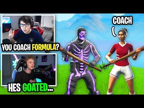 I 1v1 Formula's Fortnite Coach... (he qualified for World Cup Solo Finals)