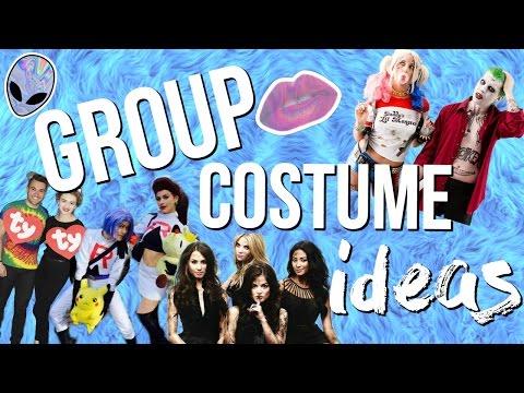 11 Group Halloween Costume Ideas 2016! Last Minute Costume Ideas!